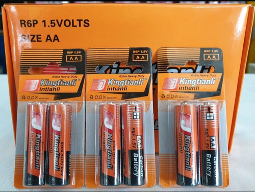 Bateria Pila Aa Blister De 2 Unidades Cod 972 Somos Tienda