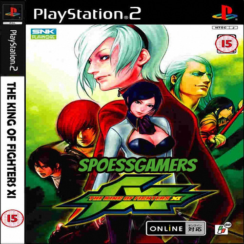 The King Of Fighters Xi ( Luta ) Ps2 Desbloqueado Patch