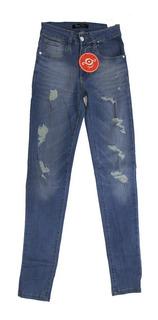 Jeans Chupin Elastizado Mujer Surah (2424)