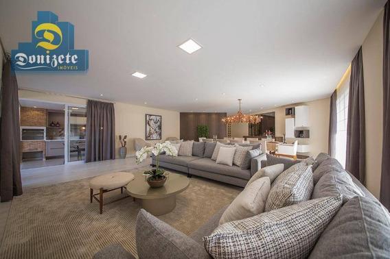 Apartamento Com 4 Dormitórios À Venda, 327 M² Por R$ 2.196.000,00 - Campestre - Santo André/sp - Ap2473