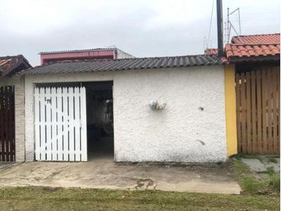 Casa Na Praia Com 1 Quarto, Permuta Por Chácara - 4889/p