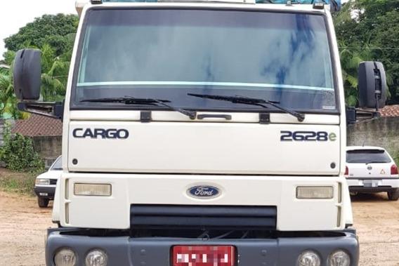 Ford Cargo 2628 6x4 Traçado C/ Caçamba Basculante