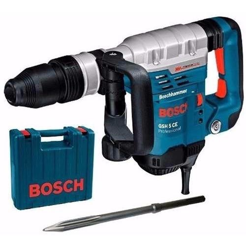 Martelete Romp Sds-max Gsh 5 Ce 1150w 5,8 Kg 220v Bosch