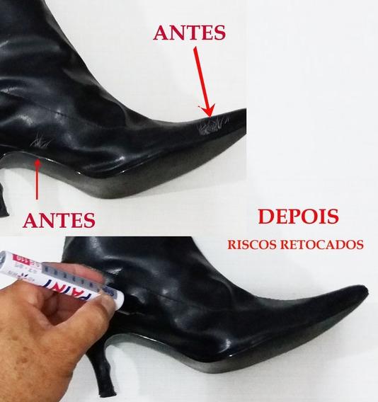 Caneta Preta Tira Riscos De Botas - Sapatos - Tênis - Bolsa