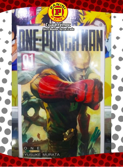 Panini Manga One Punch Man1 Al 8 (precio Por Tomo)