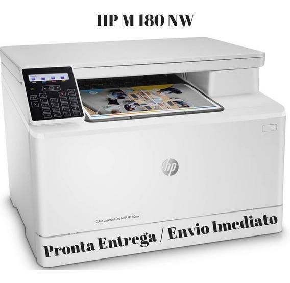 Impressora Hp Laser Colorida Pro M180nw 110v Tranfer Envio Imediato