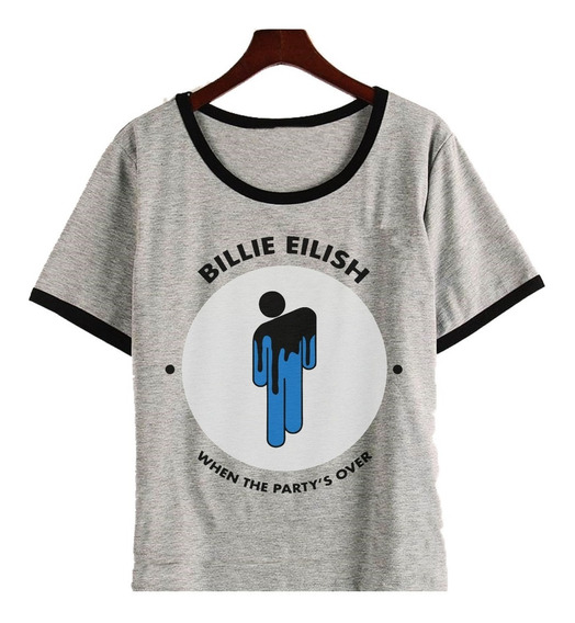 Remera Billie Eilish When The Party Over