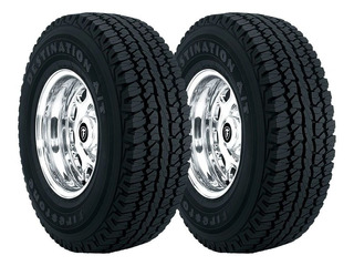 Paquete 2 Llantas 31x10.50r15 Firestone Destination At 109r