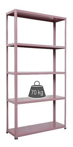 Estante De Metal Lila 175x90x30cm Diseño Organizador