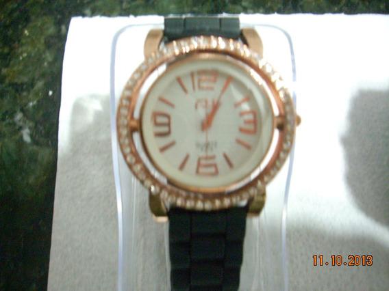 Relógios Ana Hickmann Feminino.sport Pulseira De Silicone