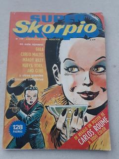Skorpio N° 119 Año Año 1985 Con Poster De Carlos Roume