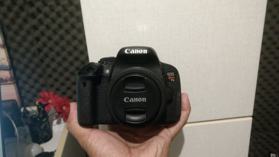 Kit Camera Canon T5i +flash +microfone +monopé+baterias