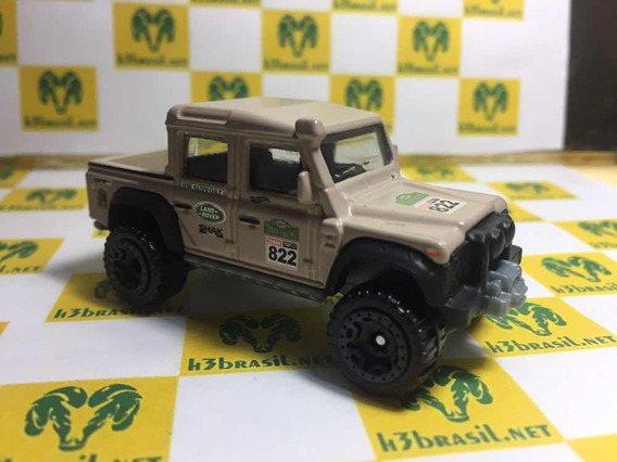 Bx05 Hot Wheels Loose Land Rover Defender Double Cab H3br