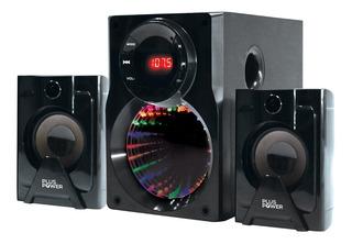 Sistema De Audio / Mini Componente 2.1 Bluetooth