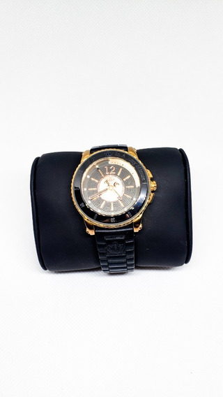 Reloj Juicy Couture Negro Y Dorado