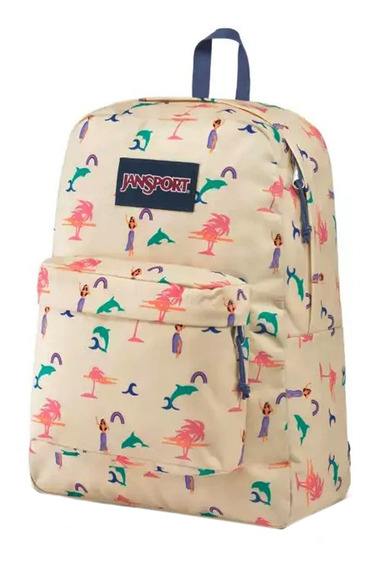 Mochila Jansport Moda Superbreak Be/fu