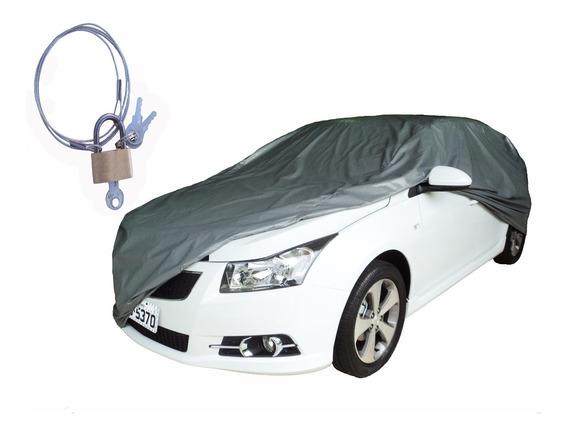 Capa Cobrir Carro M Corsa Sedan 100% Forro + Cadeado
