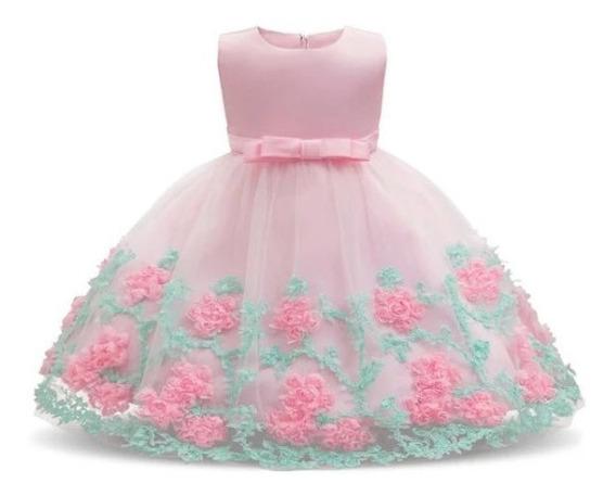 Vestido De Dama, Daminha, Infantil, Lindo!!!