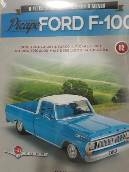 Coleção Ford F-100 Montagem - Edição 3 E 4 Lançamento