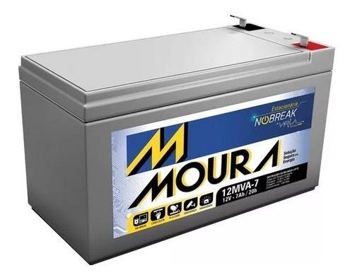 Bateria Nobreak Caixas Eletronicos Mva7 12v 7ah Moura