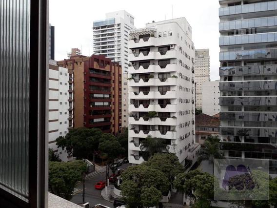 Apartamento Com 1 Dormitório Para Alugar, 38 M² Por R$ 1.500/mês - Boqueirão - Santos/sp - Ap1432