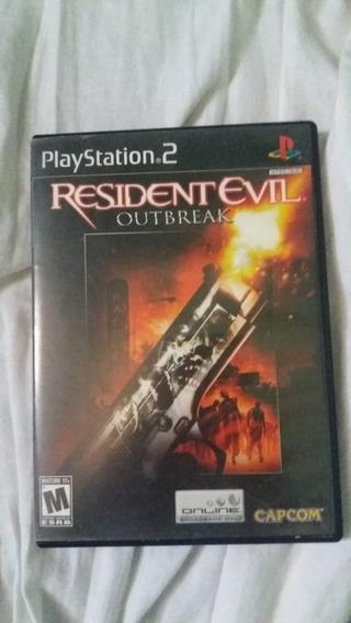 Resident Evil Outbreak Original Ps2