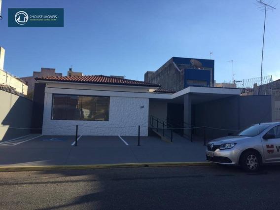 Casa Comercial Para Locação No Centro De Jundiaí! - Ca3344