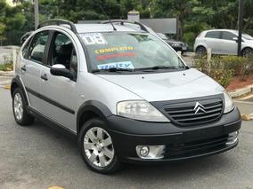 Citroën C3 1.6 16v X-tr Flex Com Bancos Em Couro+km Baixo