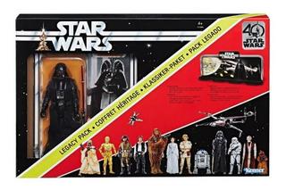 Star Wars Legacy Pack Con Figura Darth Vader
