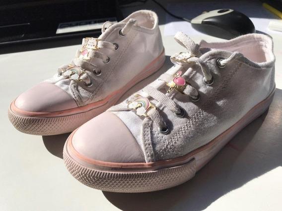 Zapatillas Lona Blanca