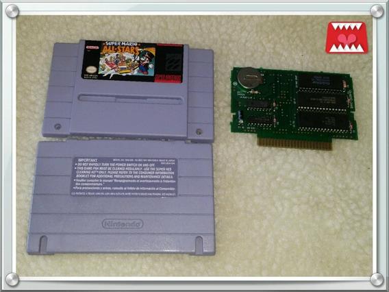 Cartucho Super Mario All Stars Orig. Relabel Super Nintendo