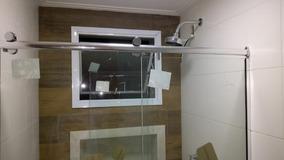 Kit Box Advance F1 1,50 P/ Banheiro Roldana Aparente Vidro 8
