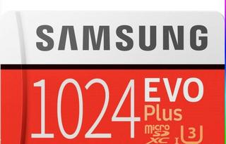 Cartão De Memória Samsung Evo Plus 1 Tera Bayte. Em Estoque.