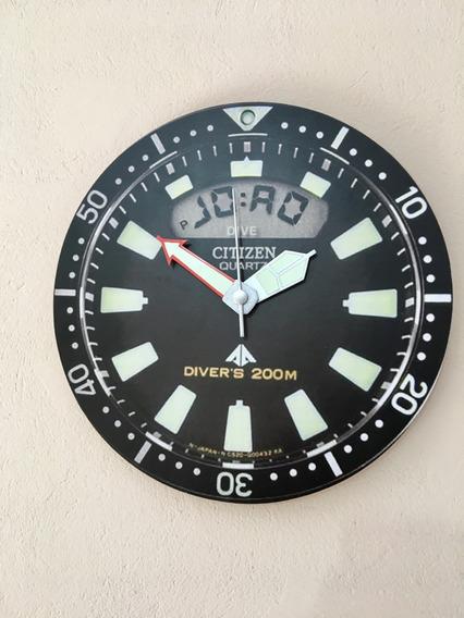 Relógio De Parede Citizen C022 Jp2000 Aqualand