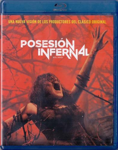 Posesion Infernal Evil Dead Fede Alvarez Pelicula Blu-ray