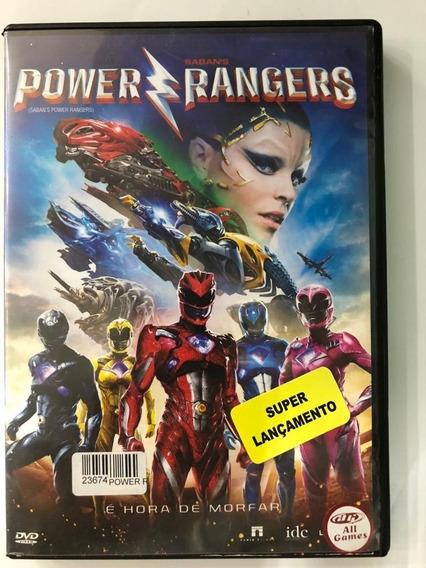 Power Rangers O Filme - Dvd Usado
