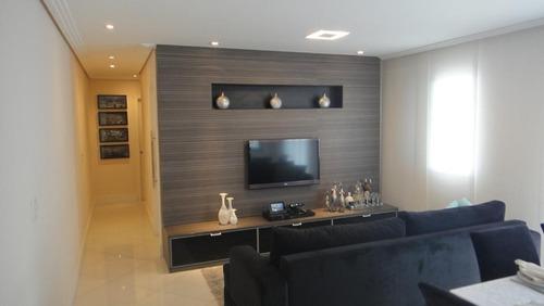 Imagem 1 de 21 de Apartamento Com 3 Dormitórios À Venda, 76 M² - Taboão - São Bernardo Do Campo/sp - Ap65031