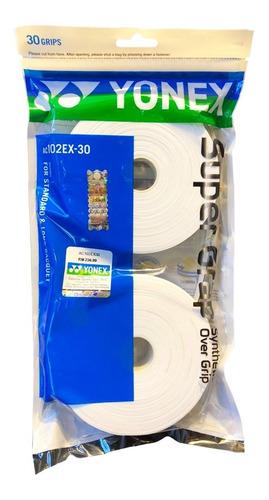 Imagen 1 de 1 de Overgrips Yonex Super Grap Rollo 30 Piezas Blanco