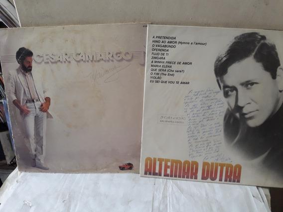 Lote 2 Lps César Camargo 1983 / Altemar Dutra Vol.4 Ne