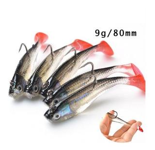Isca Artificial Lambari Silicone Kit 2 Unds Pesca Promoção
