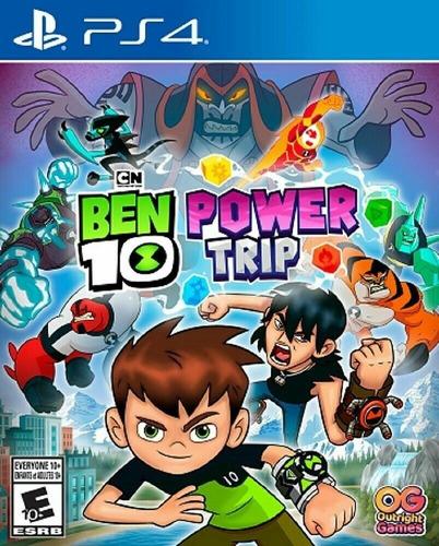 Ps4 Ben 10 Power Trip / Fisico