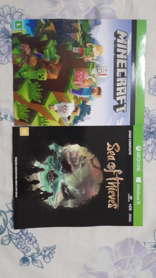 Minecraft E Sea Of Thieves