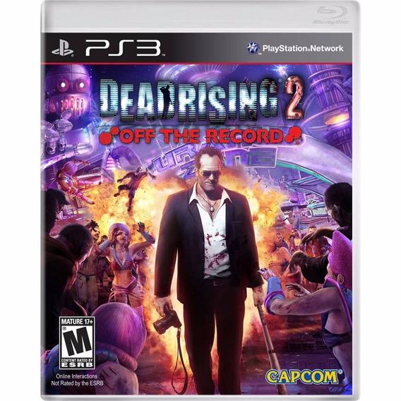 Jogo Ps3 Dead Rising 2 Off The Record Dvd Original Lacrado