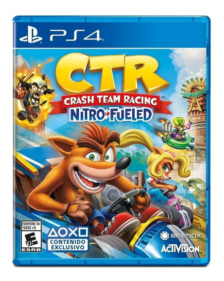 Crash Team Racing Nitro-fueled Formato Físico Ps4 Original