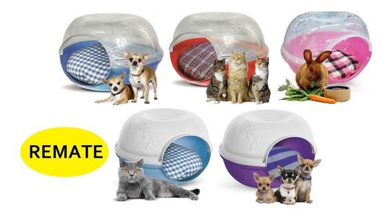 Remate Lote 5 Casas Camas Perro Gato Plast Pet Cave C/envío