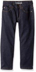 Nautica Five Pocket Straight Fit Pantalón Infantil Talla 4