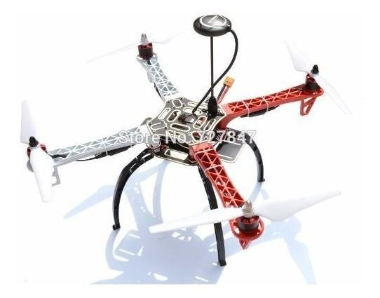 Kit Drone F450 Montagem Apm 2.8 Gps 2212 Esc 30a Simonk