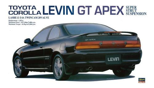 Hasegawa  20254  1/24  Toyota Corolla Levin Gt Apex Kit Ana