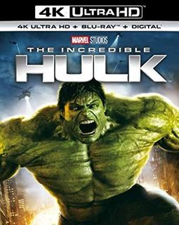 Blu-ray 4k -- The Incredible Hulk