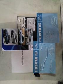 Manual Proprietário Subaru Impreza 2011 2.0